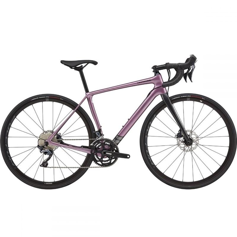 Bicicleta Speed Synapse Shimano Ultegra 22v Roxa ano 2021 Cannondale