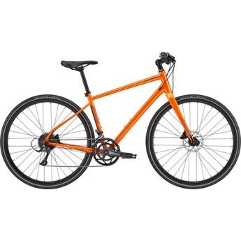 Bicicleta Urbana Cannondale Quick Disc 2 Shimano Sora 18v Laranja ano 2021 Cannondale