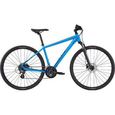 Bicicleta Urbana Quick CX 3 Shimano Tourney/Altus 16v Azul Ano 2020 Cannondale