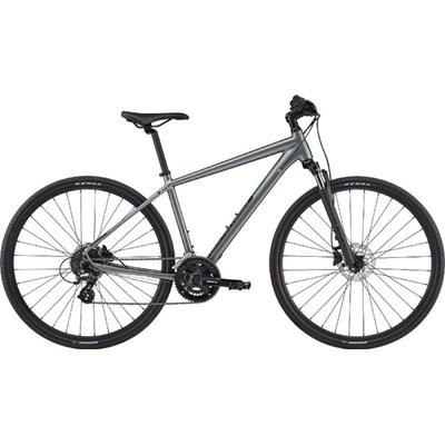 Bicicleta Urbana Quick CX 3 Shimano Tourney/Altus 16v Cinza Ano 2020