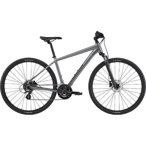 Bicicleta Urbana Quick CX 3 Shimano Tourney/Altus 16v Cinza Ano 2020 Cannondale
