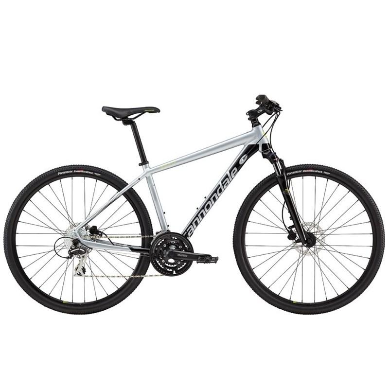 Bicicleta Urbana Quick CX 4 Shimano Altus/Acera Cinza Ano 2019 Cannondale