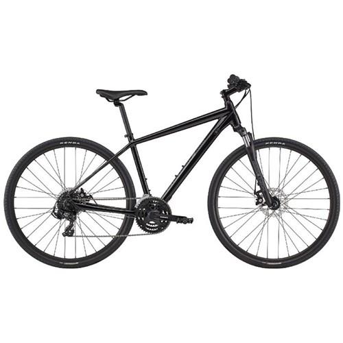 Bicicleta Urbana Quick CX 4 Shimano Tourney 21v Preta Ano 2020 Cannondale