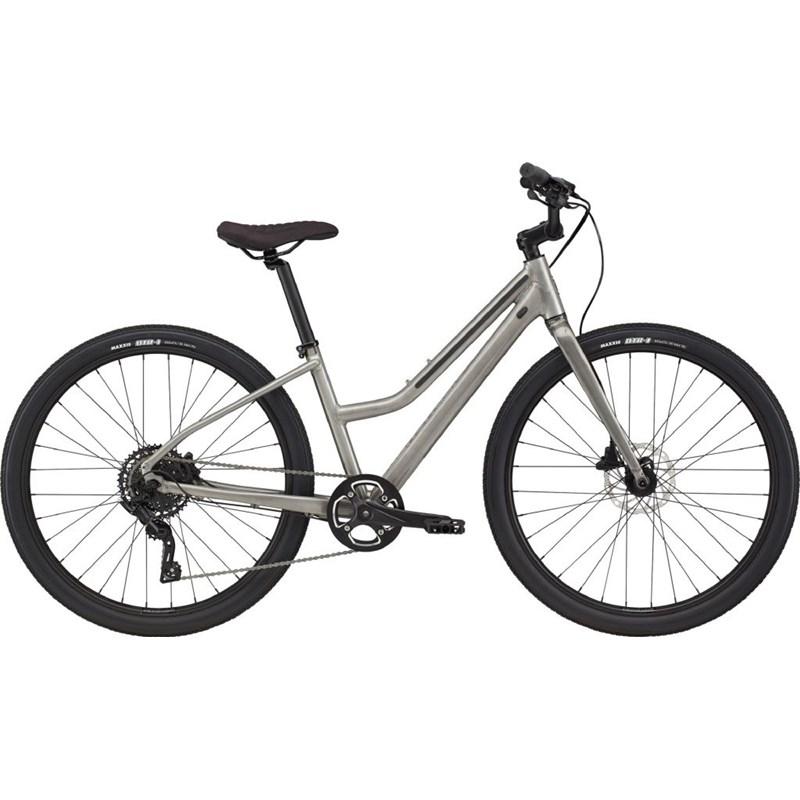 Bicicleta Urbana Treadwell 2 Remixte LTD 9v Prata Ano 2021 Cannondale