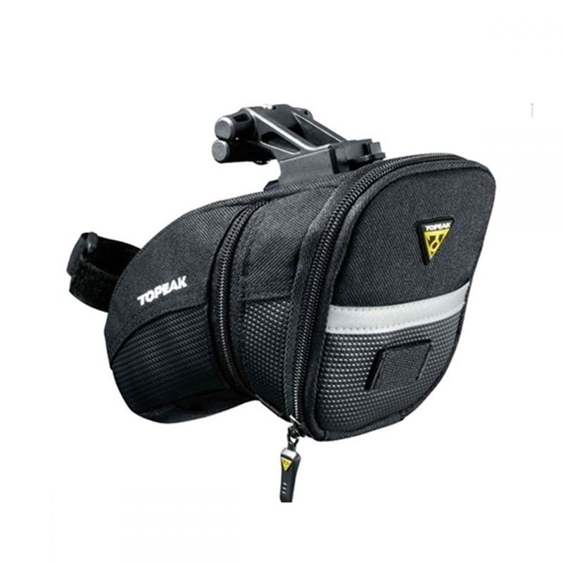 Bolsa de Selim Aero Wedge Pack M com Q-Click Preta Topeak