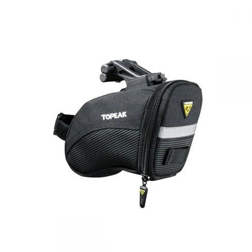Bolsa de Selim Aero Wedge Pack S com Q-Click Preta Topeak