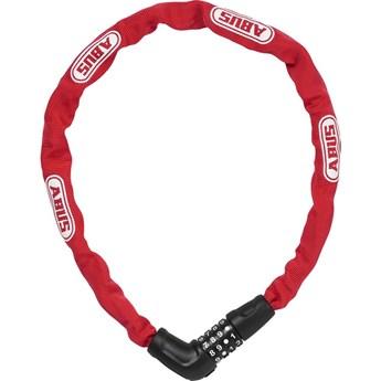 Cadeado 5805C/75 Corrente/Segredo Vermelho Abus