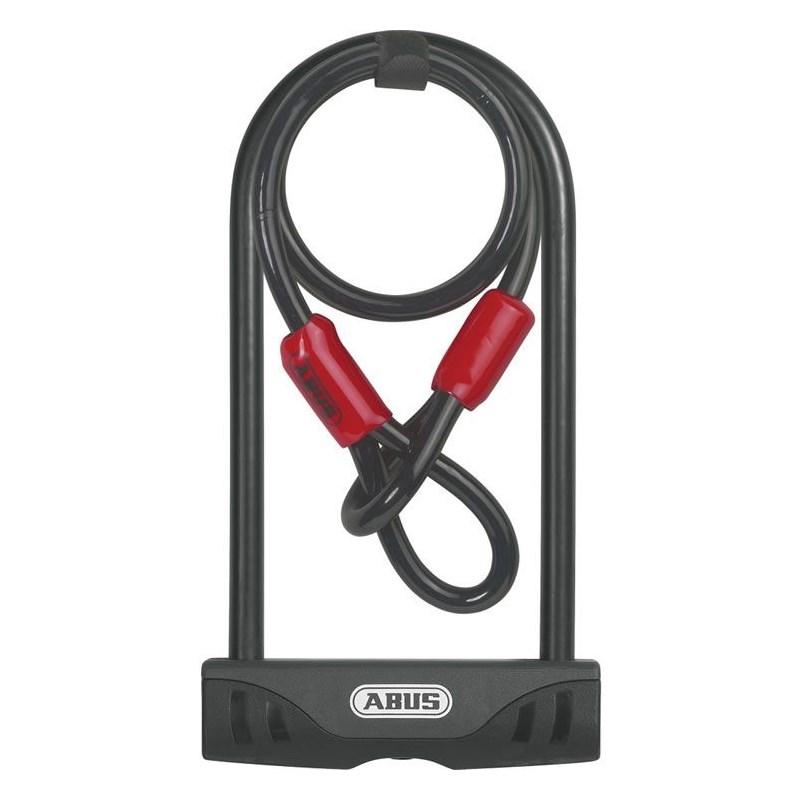 Cadeado U-Lock 10/140 USH Facilo 32 + Cobra Abus