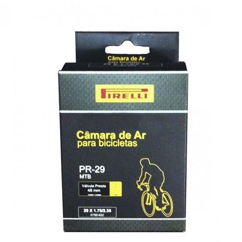 Camara de Ar 29x1.75-2.35 Valvula Presta 48mm Pirelli