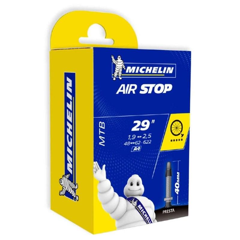 Câmara de ar MTB 29x1.9-2.5 Valvula Presta 40mm Michelin