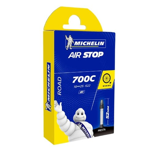 Câmara de ar Speed 700x18-25c Valvula Presta 52mm Michelin