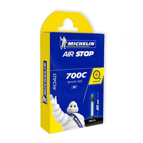 Câmara de ar Speed 700x18-25c Valvula Presta 80mm Michelin