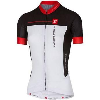 Camisa Ciclismo Feminina 3T Team Castelli