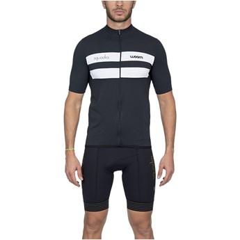 Camisa Ciclismo Masculina Squadra Treviso Preta