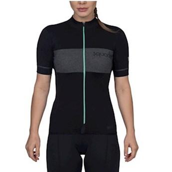 Camisa Ciclismo Squadra Manga Curta Feminina