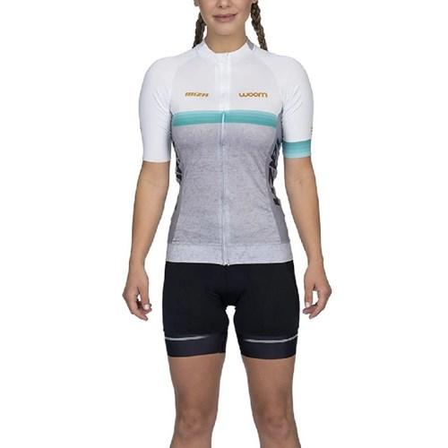 Camisa Ciclismo Supreme 2020 Ibiza Mescla Manga Curta Feminina Woom