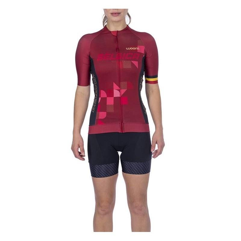 Camisa Ciclismo Supreme 2021 Feminina Bélgica Woom