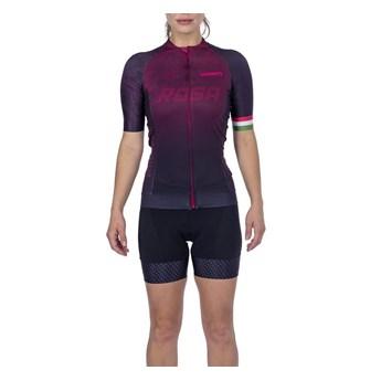 Camisa Ciclismo Supreme 2021 Feminina Rosa Woom