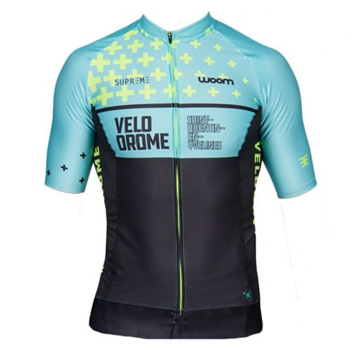 Camisa Ciclismo Velodrome Manga Curta Masculina Woom