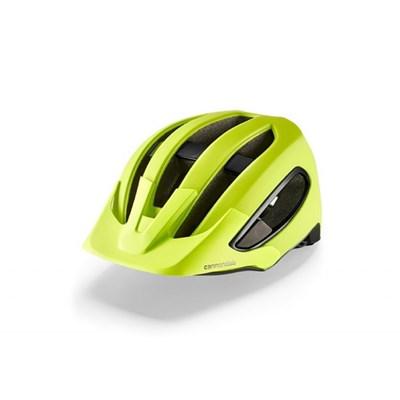 Capacete Ciclismo MTB Urbano Hunter Verde Cannondale