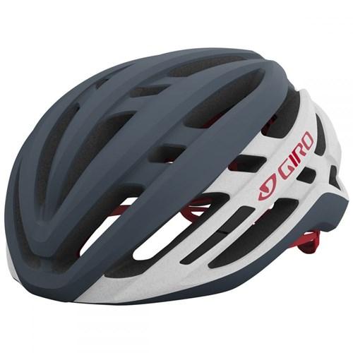 Capacete de Ciclismo Agilis MIPS Cinza e Branco Giro