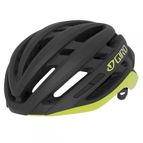 Capacete de Ciclismo Agilis Preto e Amarelo Giro