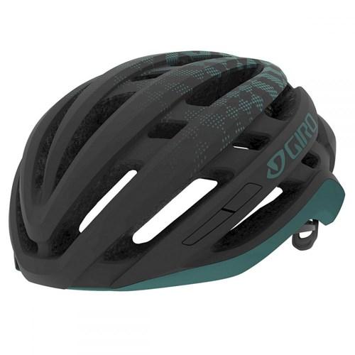 Capacete de Ciclismo Agilis Preto e Verde