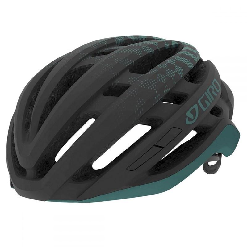 Capacete de Ciclismo Agilis Preto e Verde Giro