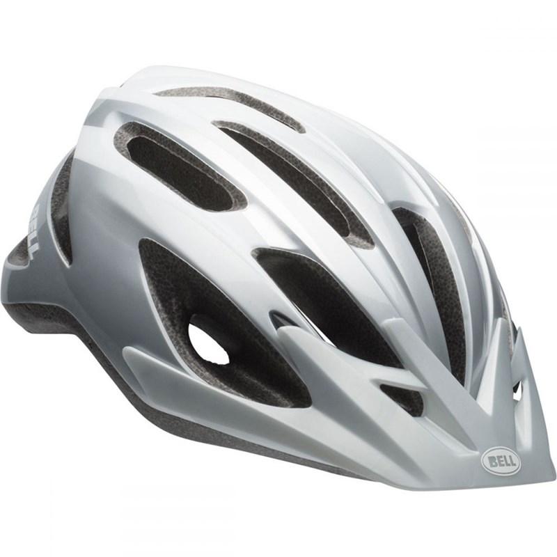 Capacete de Ciclismo Crest Cinza e Prata Bell