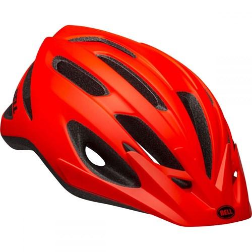 Capacete de Ciclismo Crest Laranja e Preto Bell