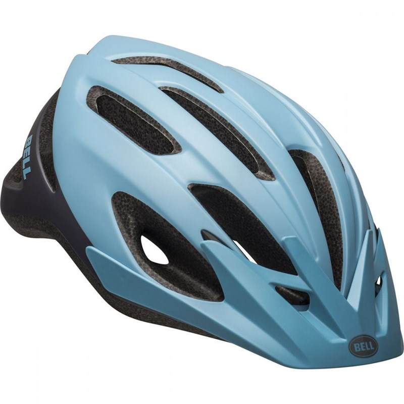 Capacete de Ciclismo Crest Prata e Azul Bell
