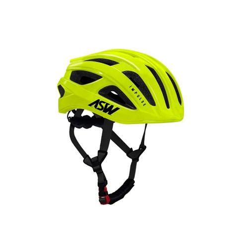 Capacete de Ciclismo Impulse Amarelo Fluor ASW