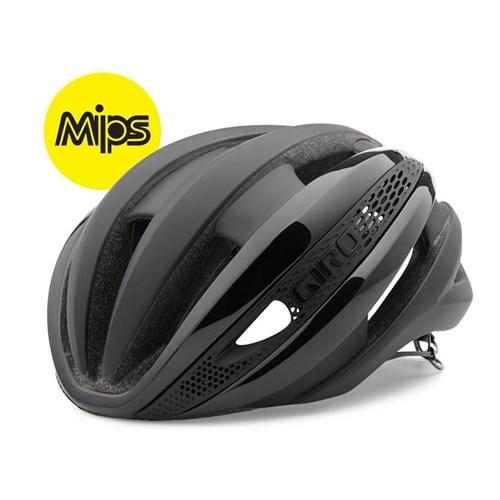 Capacete de ciclismo Synthe MIPS Preto Giro