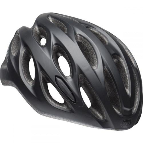 Capacete de Ciclismo Tracker Preto Fosco