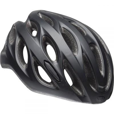 Capacete de Ciclismo Tracker Preto Fosco Bell