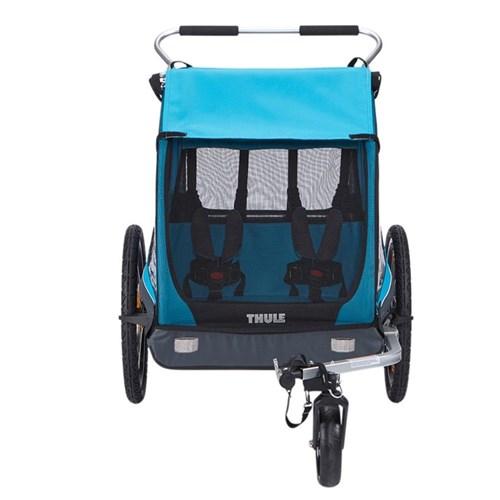 Carrinho de Crianças Coaster XT Bike Trailer para Bicicletas - 2 Crianças (45kg)