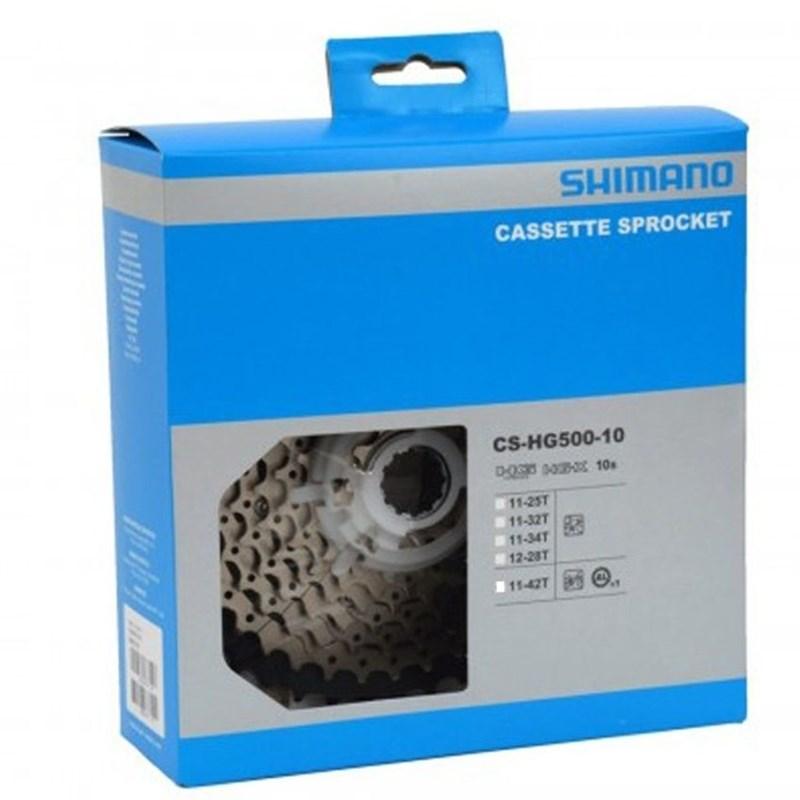 Cassete Deore Tiagra HG500 10 velocidades Shimano
