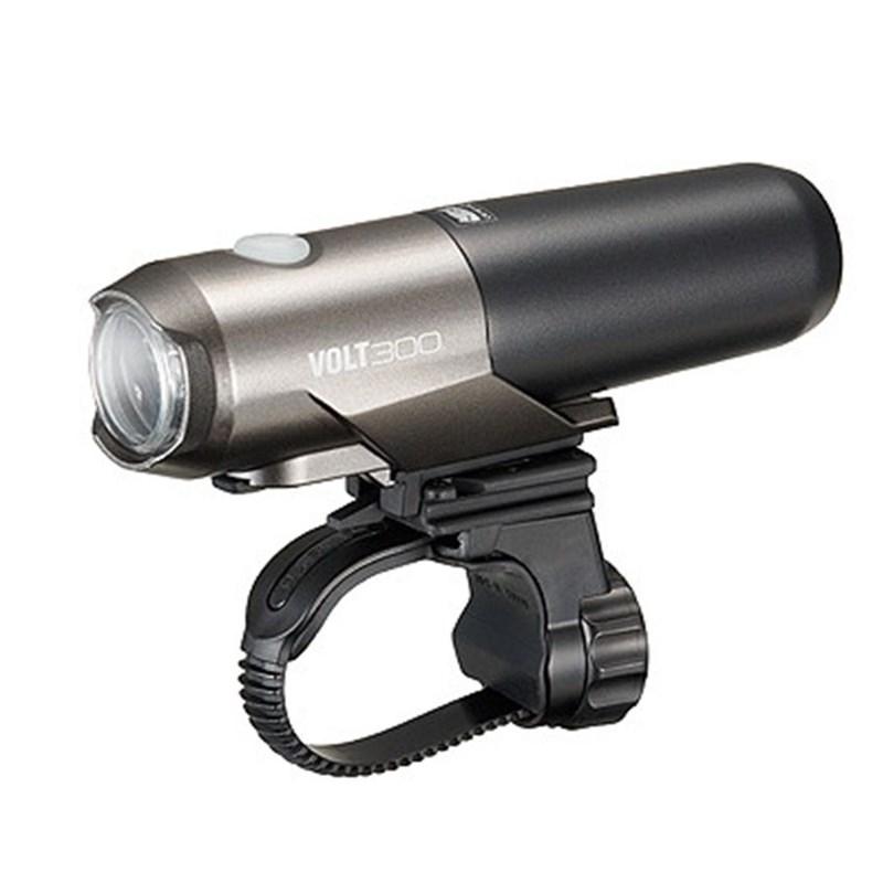 Farol Dianteiro Volt 300 Lumens HL-EL460RC Recarregavel USB Cateye