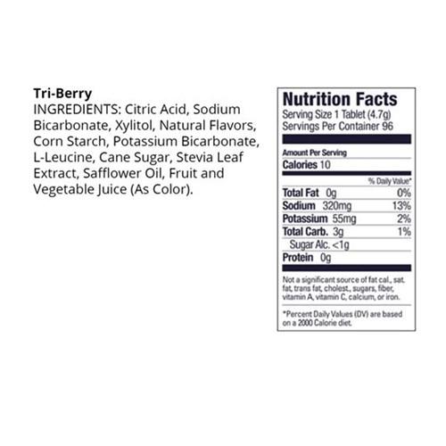 Hidroeletrolitico Tubo 12 Pastilhas - Frutas Vermelhas