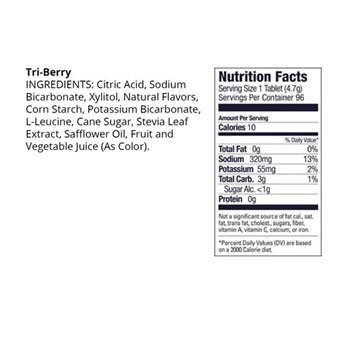 Hidroeletrolitico Tubo 12 Pastilhas - Frutas Vermelhas GU