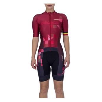 Macaquinho Ciclismo Supreme 2021 Feminino Bélgica Woom