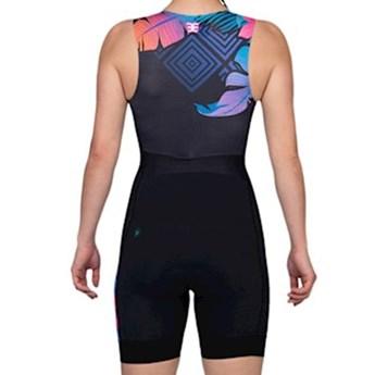 Macaquinho Ciclismo Triathlon 140 Pandora Feminino Woom