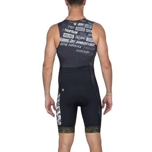 Macaquinho Triathlon 140 2020 Uptown Verde sem Manga Masculino Woom