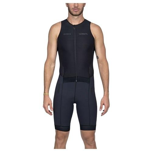 Macaquinho Triathlon sem manga Carbon Black Masculino - 2020 Woom