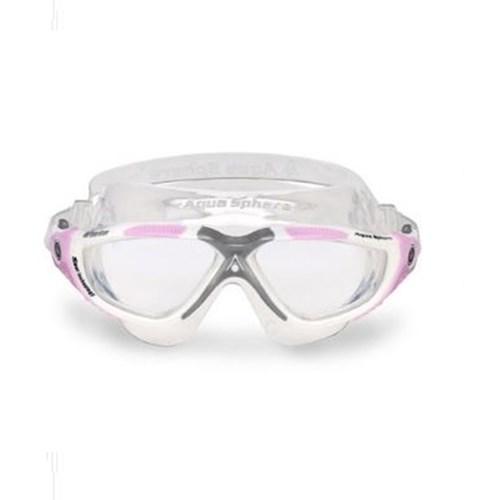 Mascara de Natação Vista Ladies Branco/Rosa Aqua Sphere