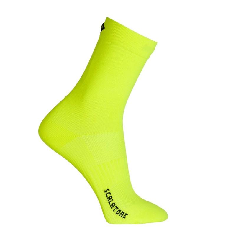 Meia Ciclismo Vince Scalatore Amarelo Fluor Vince