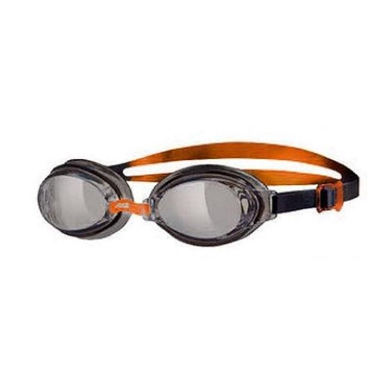 Oculos de Natação Hydro Preto/Laranja lente Fume Zoggs