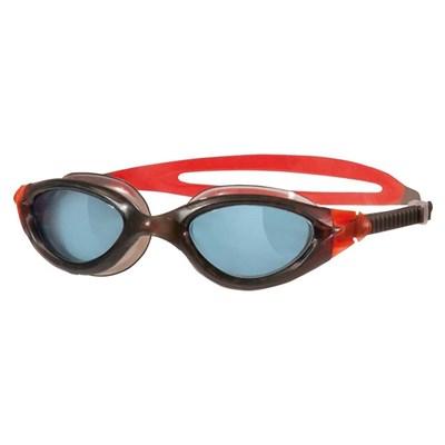 Oculos de Natação Panorama Preto/Vermelho lente Fume Zoggs