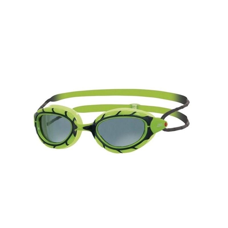 Oculos de Natação Predator Jr Verde/Preto Zoggs