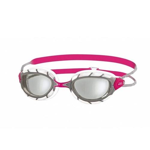 Oculos de Natação Predator Small Transparente/Rosa Zoggs